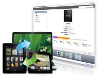 iTunes同期、iPadをPCに